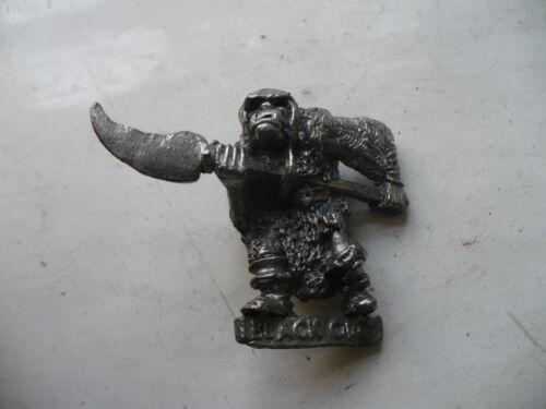 Citadel Warhammer 80s Reg Renown RR18 Eeza Ugezod Mother Crusher Orc Trooper oop