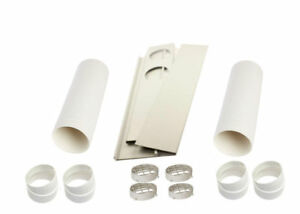 Details about Dual Exhaust Hose/Tube for Portable Air Conditioners-Window  Kit,/ Edgestar