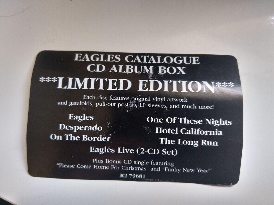 Eagles : boks, rock