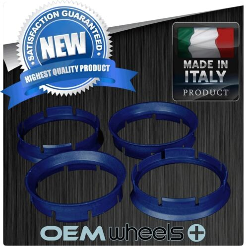 POLYCARBONATE HUB CENTRIC HUBCENTRIC RING RINGS FOR 72.6 72.56 RIMS to 64.1 CAR