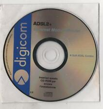 CD SOFTWARE - DIGICOM - ADSL2+ - ETHERNET MODEM/ROUTER - SOFTWARE ADSL COMBO 2.0
