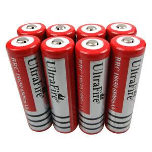 8Pcs-18650-Batterie-6800mAh-3-7V-Li-ion-Rechargeable-Battery-for-BRC-Flashlight