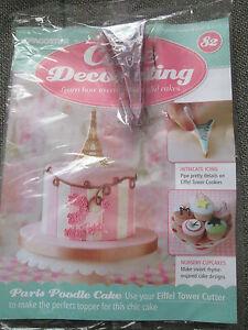 Deagostini Cake Decorating Magazine ISSUE 82 EIFFEL TOWER ...