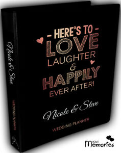 Wedding-Planner-Heres-to-love-laughter-Book-Keepsake-momento-Personalised