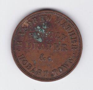 Token-Penny-Robert-Andrew-Mather-Family-Draper-Hobart-Tasmania-circa-1860-Z-432