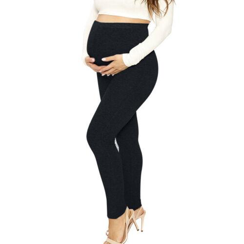 Hosen Damen Schwangere Yoga Sommer Lang Mutterschaft Slim Fit Leggings