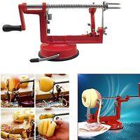 3 in 1 Apple Slinky Machine Peeler Corer Fruit Cutter Slicer Kitchen Tool Lot SY