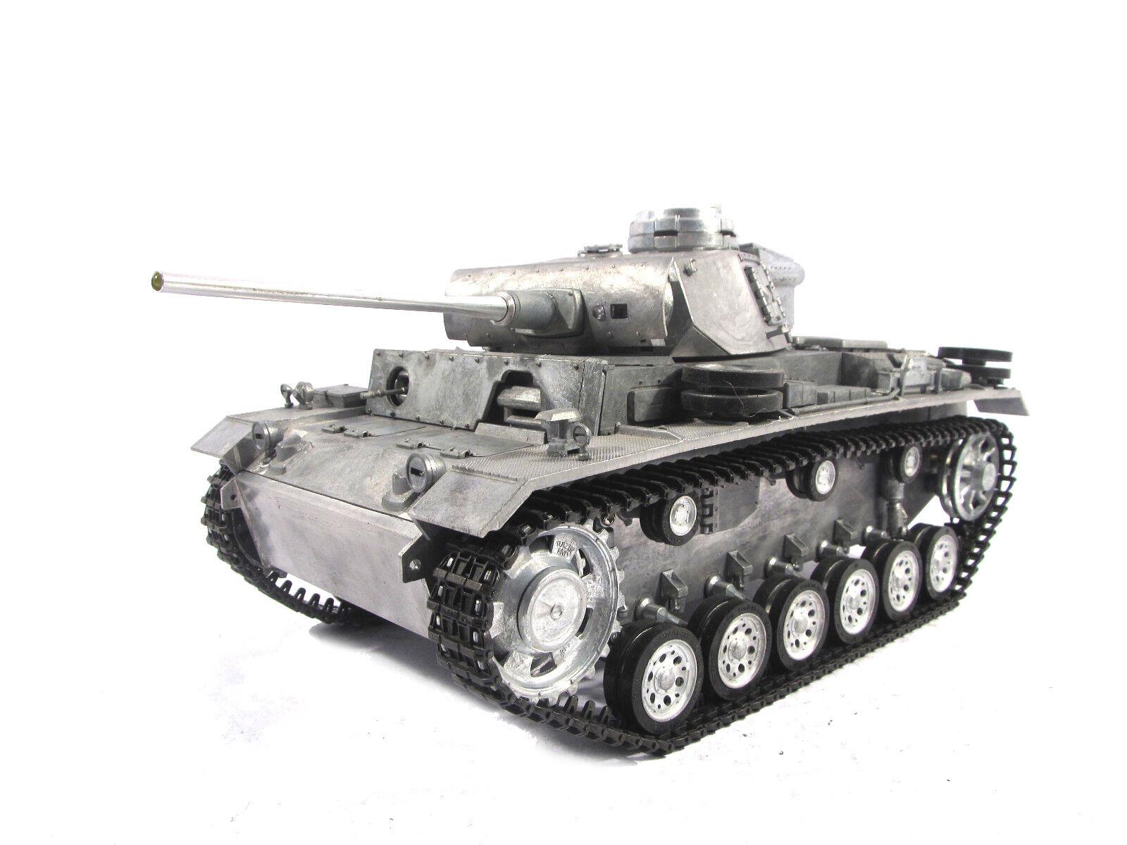 Mato 1   16 100% deutsche panzer iii - tank (original - farbe, rtr)