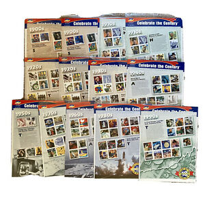 $63.50 Face Value Unused US Stamps Celebrate the Century 32 to 33 Cents Stamps