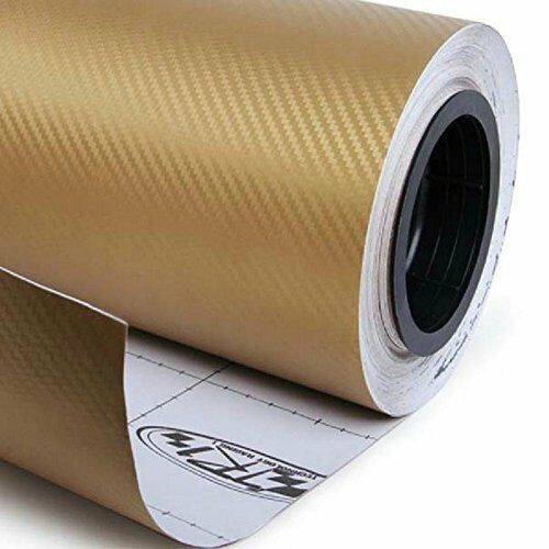 Premium 5D Gloss Carbon Fiber Vinyl Wrap Film Sticker Bubble Free Air Release US