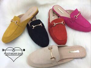 Footwear Sale Women Flat Mule Shoes