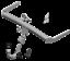 Indexbild 1 - Brink Towbar for Seat Leon Estate 2013-2016 - Diagonal Detachable Tow Bar