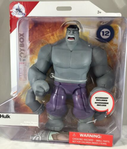 "Disney Hulk Toybox GREY HULK Marvel 6/"" Action Figure Brand New!"