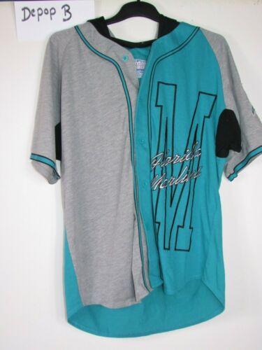 Vintage 90 S Starter Florida Marlins Sport À Capuche Baseball Shirt Jersey Grand