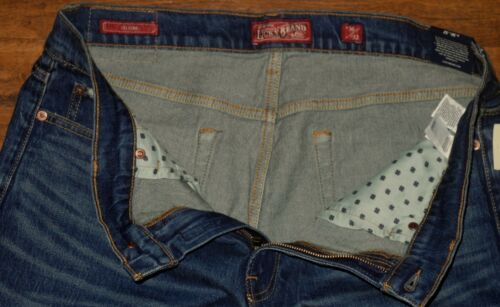 Sz Slim Taille Bleu Fines Jambes Homme Neuf Jeans Moyenne 121 Lucky Fit Brand twnFq17g