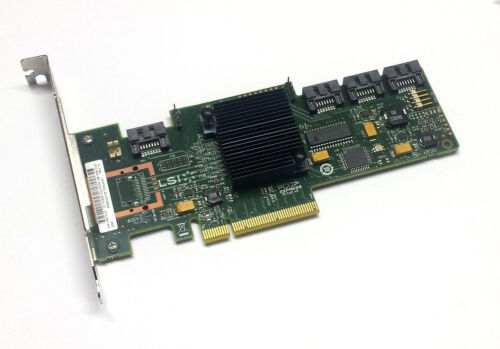 RAID HBA LSI Megaraid 9212-4i 6G PCIe x8 Gebraucht SAS SATA IT Mode m1015