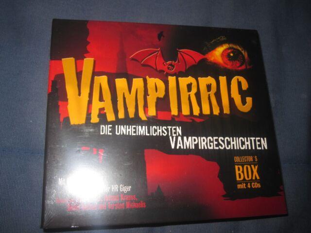 Vampirric Die unheimlichsten Vampirgeschichten Neu OVP CD