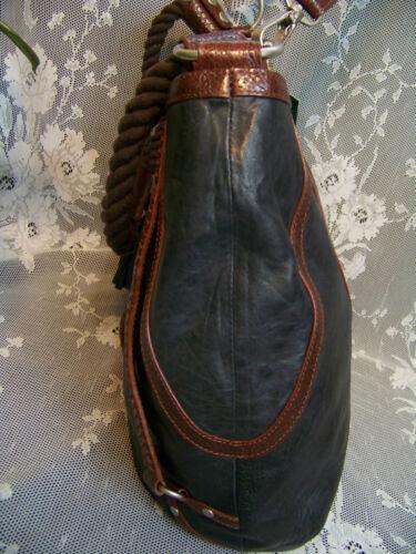 D bolso negro Bolso de cuero mano envejecido bandolera de nwt de Babee bolso bolso Dayme By qwf4wF0
