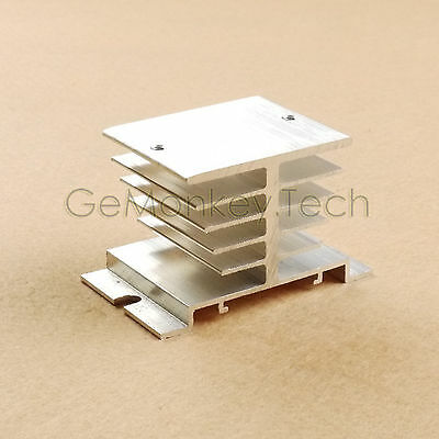 Heat Sink For SSR Solid State Relay 10A 25A 30A 35A 40A