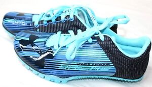 Under-Armour-Kick-Sprint-Track-Field-Shoes-Women-039-s-Blue-1297114-448-New
