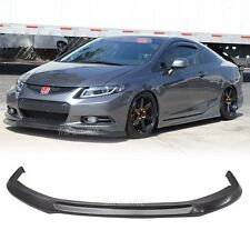 Superb Fit For 2012 2013 Honda Civic Coupe 2D Ikon Style Front Bumper Lip PU