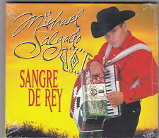 "MICHAEL SALGADO-""Sangre de Rey"" Tejano Tex Mex Latin CD SEALED (#53)"