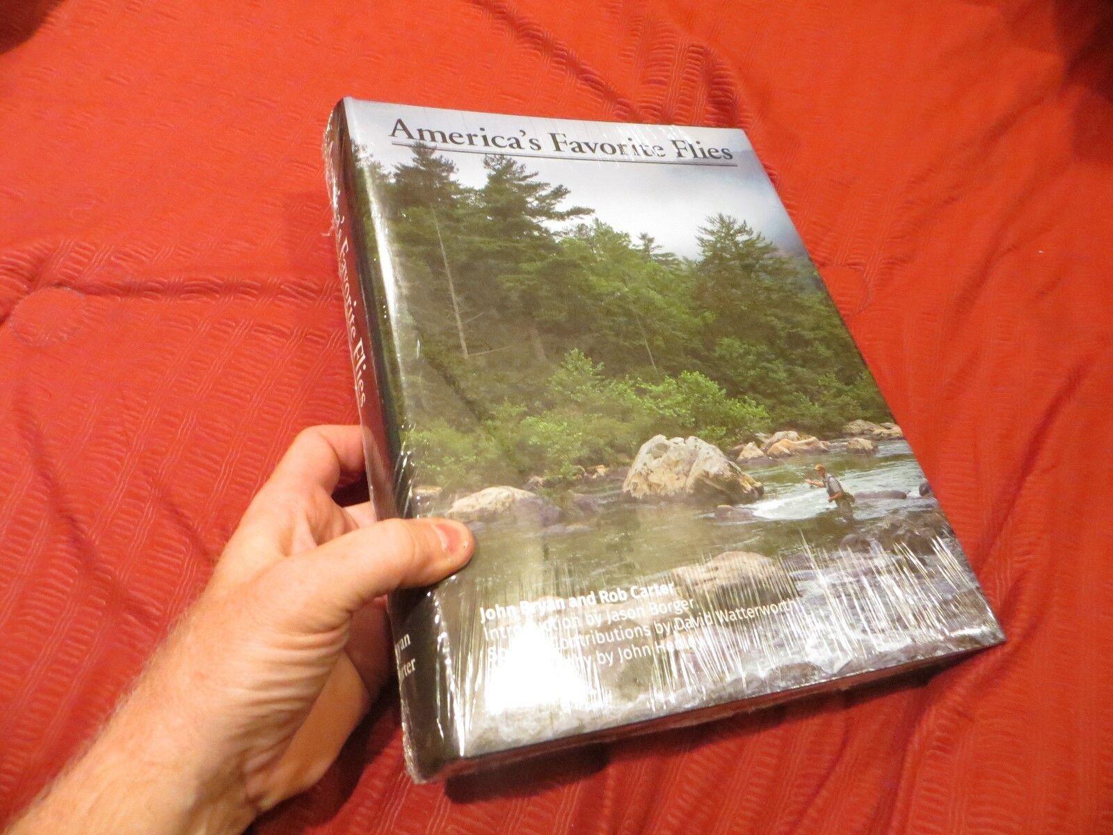 America's Favorite Moscas-libro De  Pesca Con Mosca (2017) - 656 páginas nuevo en shrinkwrap  envío gratis