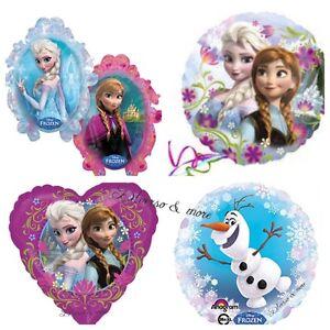 Xl Disney Frozen Eis Anna Elsa Olaf Luftballons Folienballons