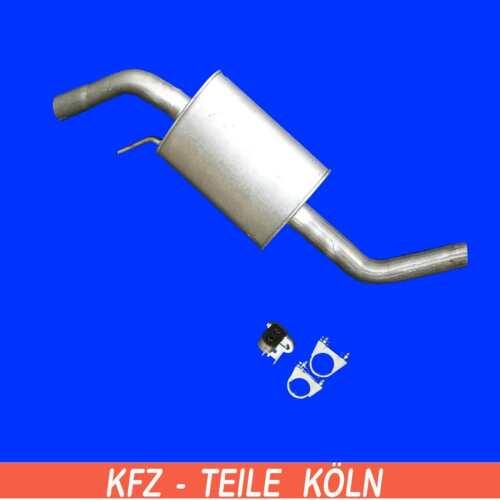 VW t4 2.5 TDI-breve//medio Silenziatore Scarico Silenziatore Medio Pentola