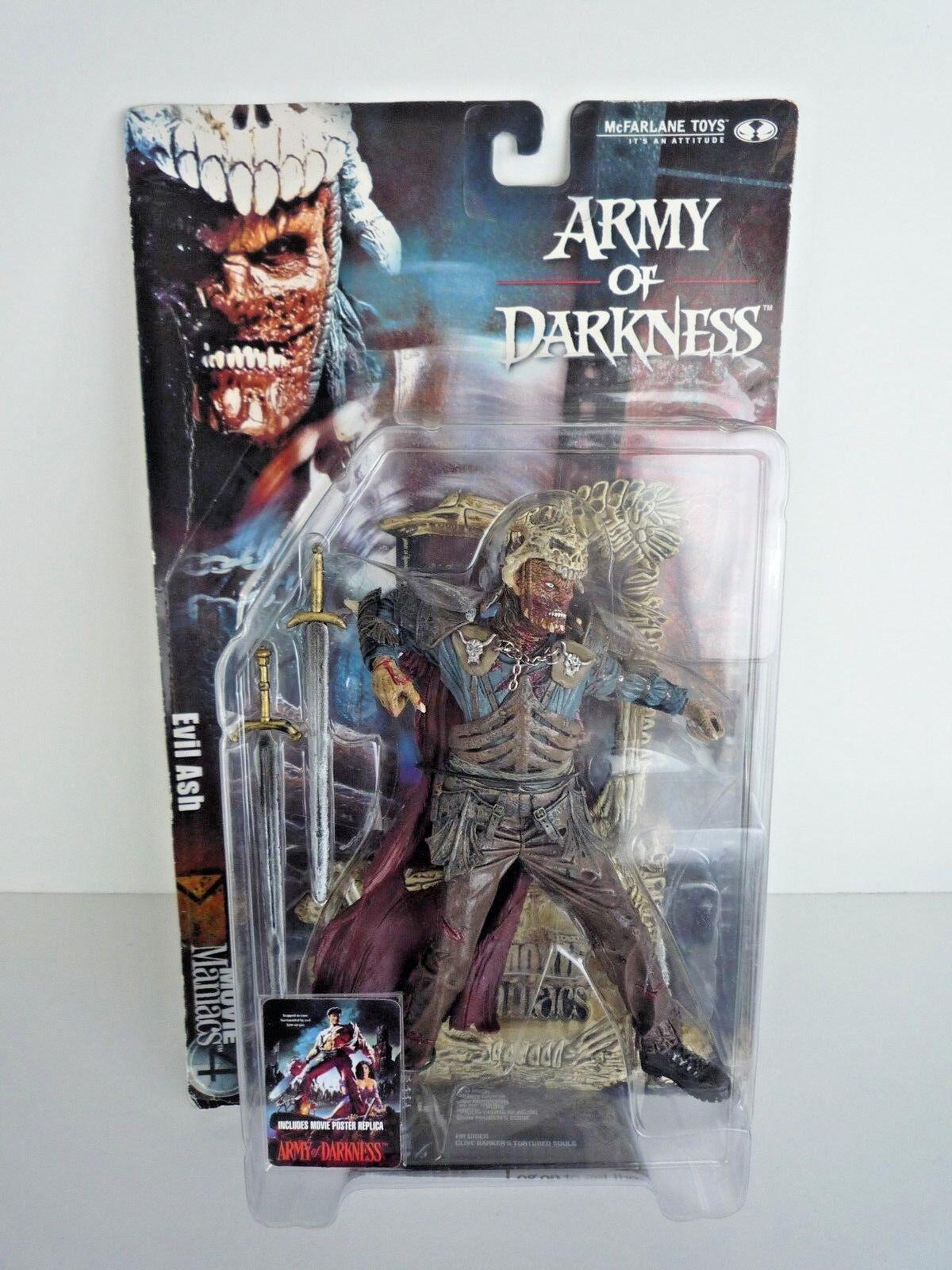 Armee der finsternis   böse ash   film irren 4   mcfarlane spielzeug   verschlossen auf der karte)