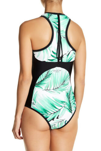 Body Glove Tropi-Cal Dive In One Piece Swimsuit Lagoon Size M Medium
