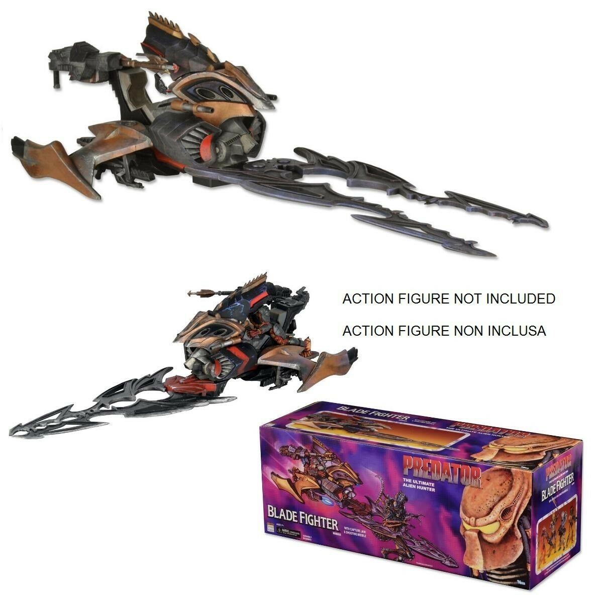 Projoator Alien Hunter Blade Fighter Vehículo 60cm Neca Nuevo Original Vehicle