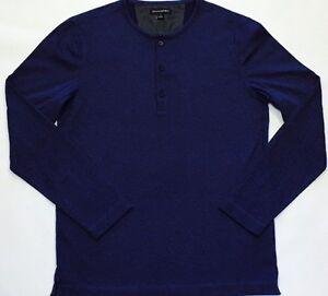 Banana Republic Navy Long Sleeves T Shirt . XL