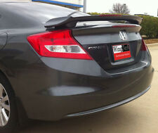 Fits: Honda Civic Coupe 2012-2015 Painted Custom Rear Spoiler With LED Light