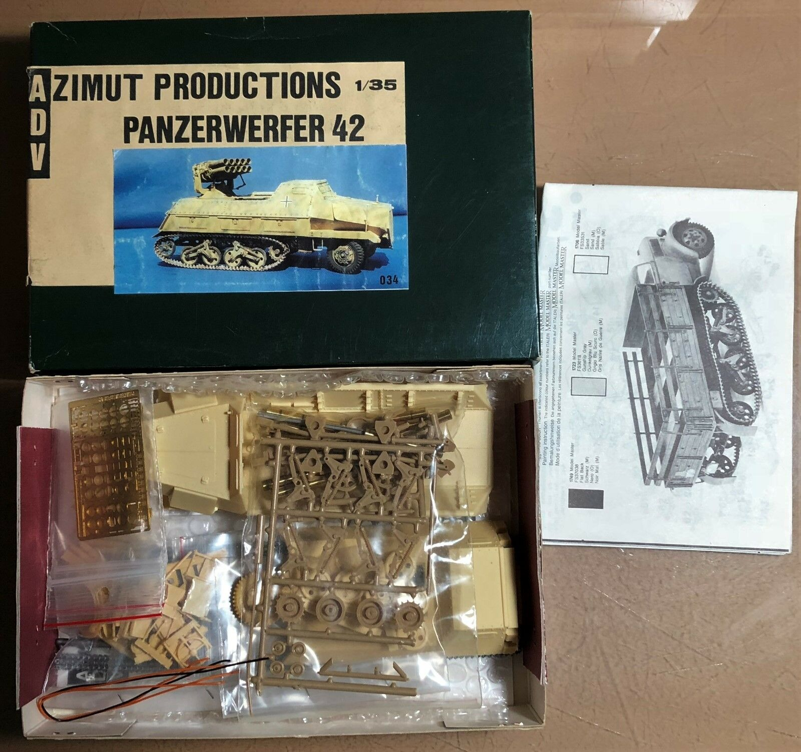 ADV AZIMUT PRODUCTION 35034 - PANZERWERFER 42 - 1 35 RESIN KIT