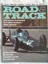 Road & Track Jul 1962 Porsche Carrera 2 litre, Isotta Fraschini