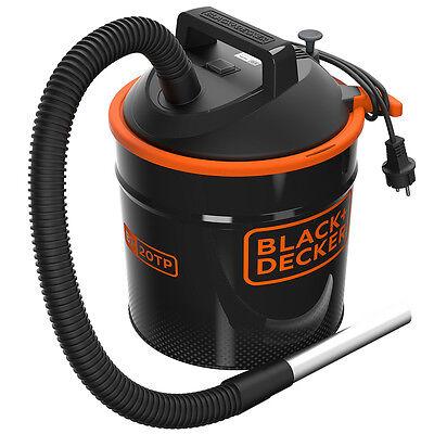 Black+Decker Aspiracenere squotifiltro cenere camino barbecue stufa BXVC20TPE