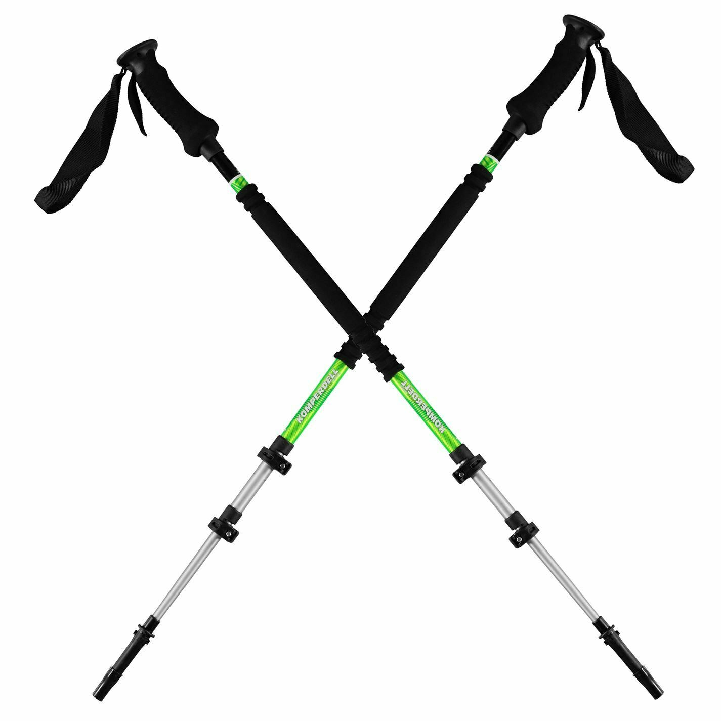 Komperdell T3 Aluminium Touring Poles Adults Unisex Ski Pole Lightweight