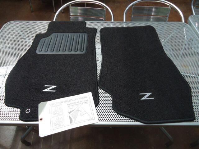 G Floor Mats >> 2004 Nissan 350z OEM Black Carpet Floor Mats | eBay