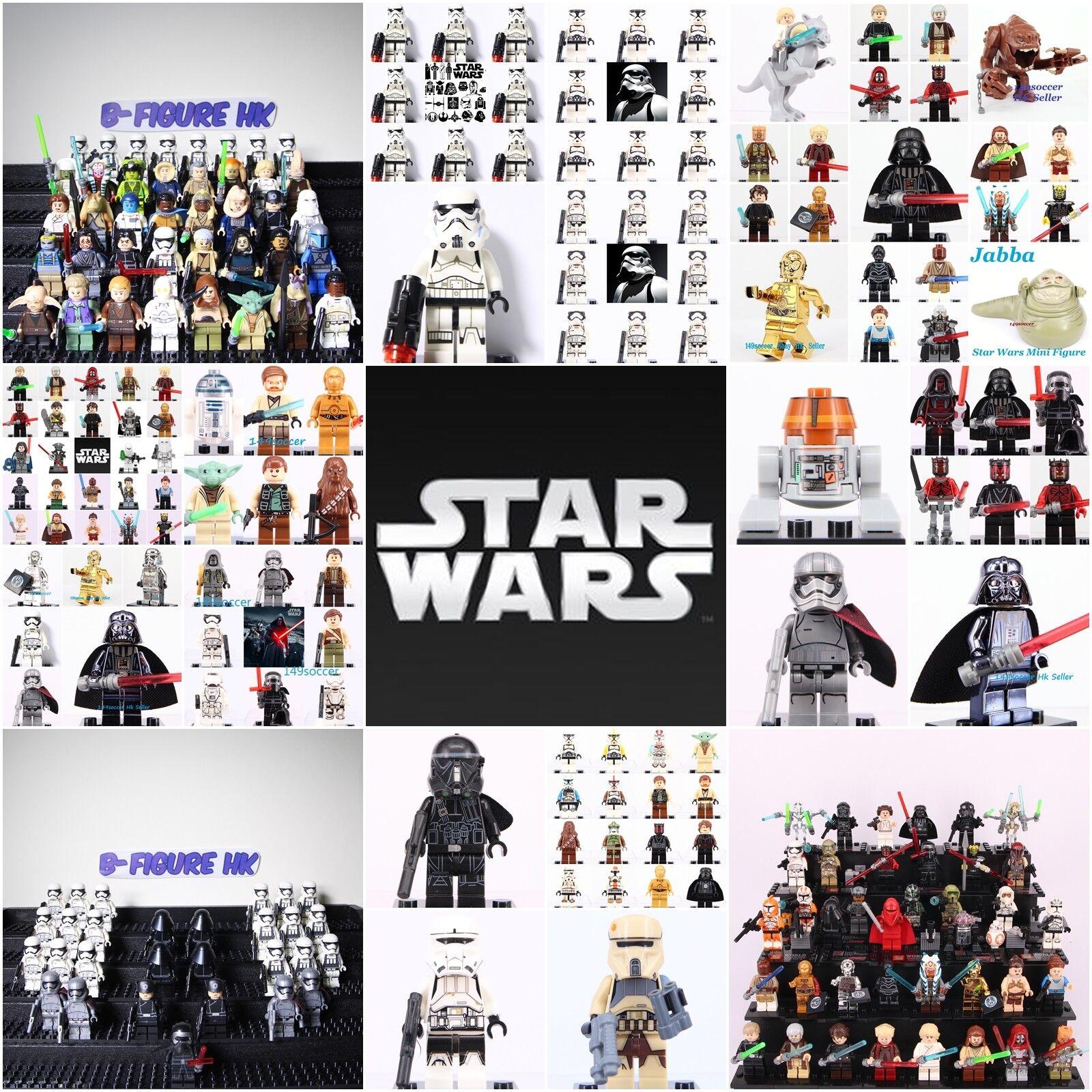 All New Star Wars Superhero The last jedi Mini figure Set Fit Lego minifigures
