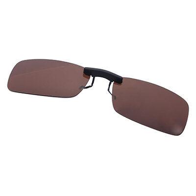 Sonnenbrille Brille Aufsatz Clip On Polbrille Sonnenbrillenaufsatz PC TAC