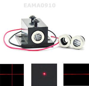 INDUSTRIAL-50mW-650nm-660nm-Red-Diode-Laser-Dot-amp-Line-amp-Cross-Module-5V-w-Heatsink