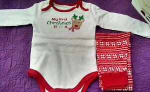 My First Christmas 3 Piece Set