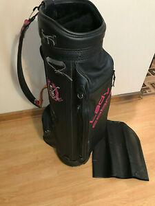 Details About Vintage Lady Cobra Las 8 Cart Golf Bag Black Pink