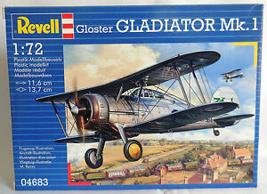 1-72-REVELL-GLOSTER-GLADIATOR-Mk-1-REF-04683-NUOVO-SIGILLATO