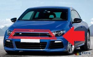 Genuine-VW-Scirocco-R-09-14-parachoques-delantero-centro-de-la-parte-superior-de-Parrilla-Recortar