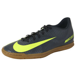 0e7bcb2ca6c36 Nike Mercurial X Vortex III Cr7 IC Indoor Football Shoe Grey Yellow ...