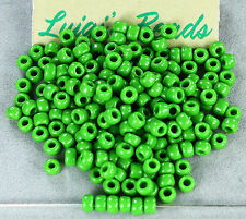 11//0 Round TOHO Glass Seed Beads #130 Opaque-Lustered Mint Green 10 grams