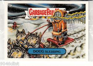 GARBAGE-PAIL-KIDS-ANS-4-DOUG-SLEDDING-B6-BONUS-CARD-MINT-IN-CELLO-RARE-GPK