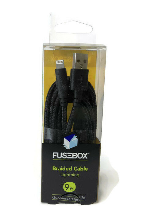 s l1600 fusebox 6 ft braided cable for iphone brand fast ebay